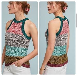 Anthropologie Harmony Sweater Tank by Maeve